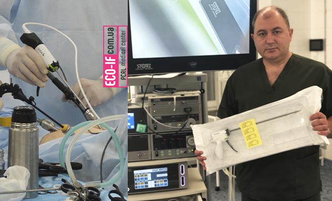 Сучасна операційна «ПЦРЛ»: Ультразвуковий скальпель (LOTUS) і переваги його використання.