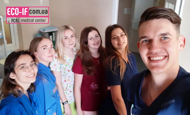 UMSA і «ПЦРЛ»: одноденне стажування студентів медиків у «Прикарпатському центрі репродукції людини».