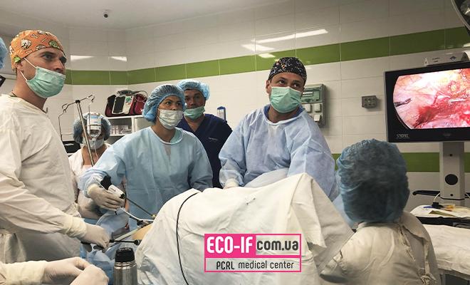 Удосконалення нових методик і прийомів. Оперативна гінекологія. Навчання.