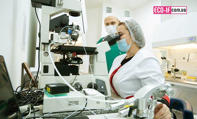 Эмбриологи «ПЦРЧ» на практическом курсе «Клиническая эмбриология» в Киеве.