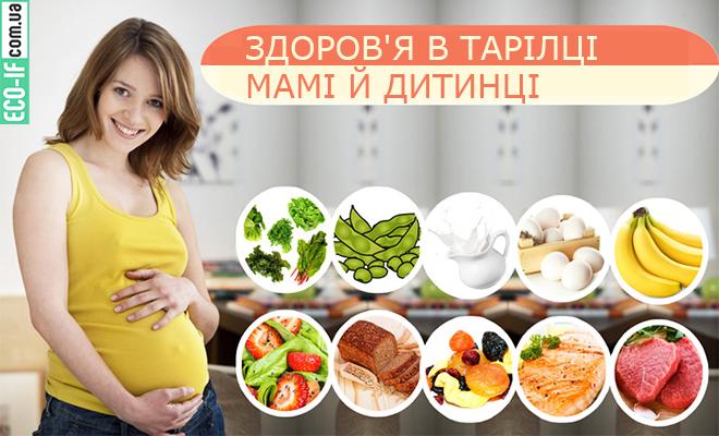 ЗДОРОВ'Я В ТАРІЛЦІ МАМІ Й ДИТИНЦІ: Про особливості режиму харчування вагітної жінки.