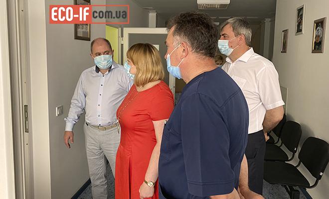 Первый заместитель министра здравоохранения Украины САДОВЬЯК Ирина Дмитриевна посетила ГУ «ПЦРЧ».
